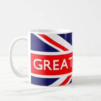 Great Britain UK Flag Mugs