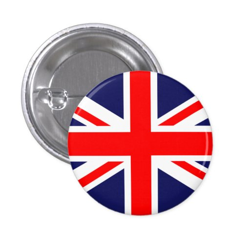 Great Britain Union Jack Button