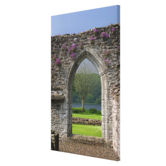Great Britain, United Kingdom, Scotland. Ruins Canvas Print