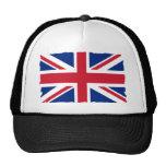 Great Britian Union Jack Mesh Hats