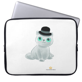 Great British Kittens - Neoprene Laptop Sleeve 15""