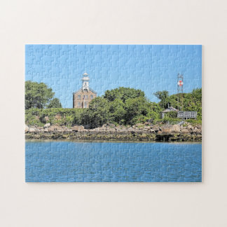 Great Captain Island Lighthouse Connecticut Puzzle
