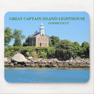 Great Captain Island Lighthouse, CT Mousepad