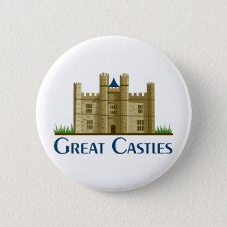 Great Castles 6 Cm Round Badge