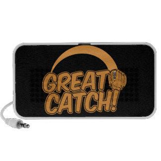 GREAT CATCH! custom Doodle speaker