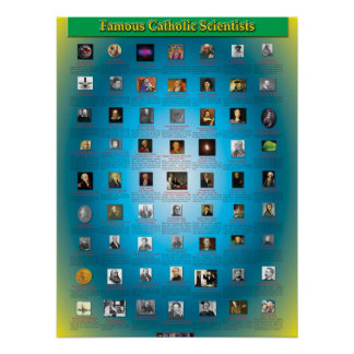 Great Catholic Scientists Posters