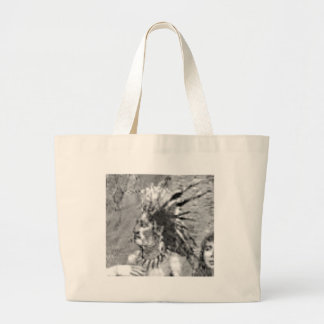 great chief legend large tote bag
