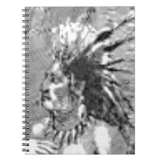 great chief legend spiral notebook