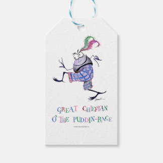 great  chieftan o'the puddin-race gift tags