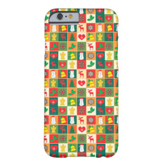 Great Christmas Pattern Barely There iPhone 6 Case