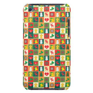 Great Christmas Pattern Barely There iPod Case