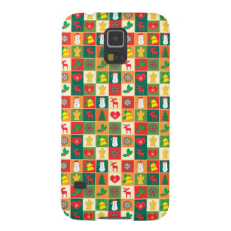 Great Christmas Pattern Case For Galaxy S5