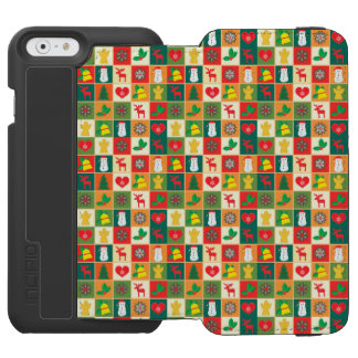 Great Christmas Pattern Incipio Watson™ iPhone 6 Wallet Case