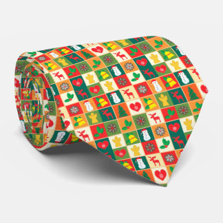 Great Christmas Pattern Tie