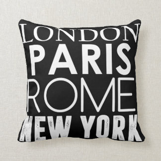 Great Cities of the World Cushion