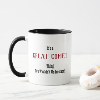 Great Comet Mug