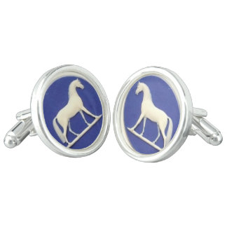 Great Cuff links based on 1800's Wedgwood/Stubbs