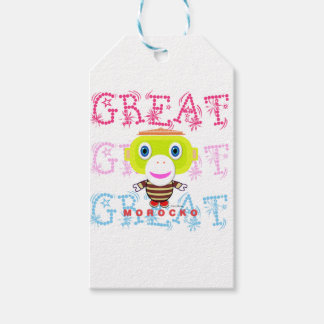 Great-Cute Monkey-Morocko Gift Tags
