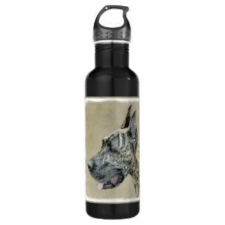 Great Dane (Brindle) 710 Ml Water Bottle
