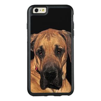 Great Dane Brown Dog OtterBox iPhone 6 Plus Case