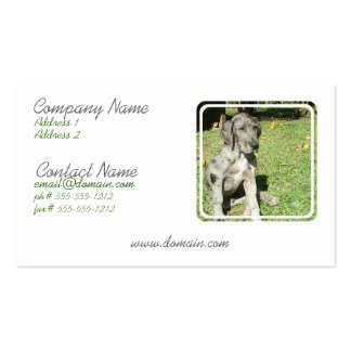 Great Dane Business Card
