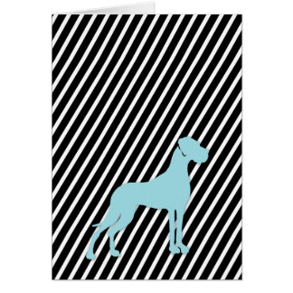 "Great Dane Card ""Serious"""