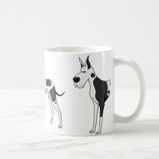 great dane cartoon 2 coffee mug