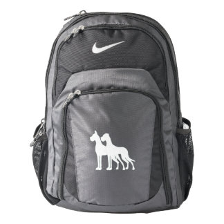 Great Dane Couple Backpack