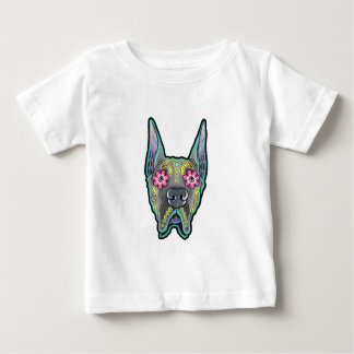 Great dane - cropped ear edition - day of th baby T-Shirt