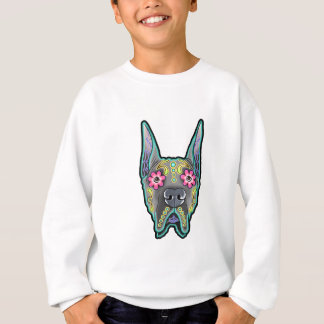 Great dane - cropped ear edition - day of th sweatshirt