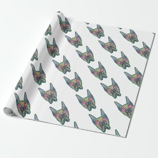 Great dane - cropped ear edition - day of th wrapping paper