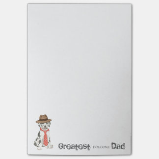 Great Dane Dad Sticky Note