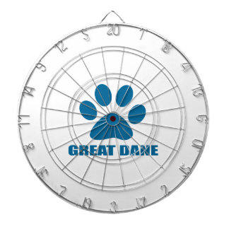 GREAT DANE DOG DESIGNS DARTBOARD