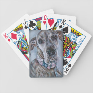 Great Dane Dog Drawing Design Bicycle Playing Cards