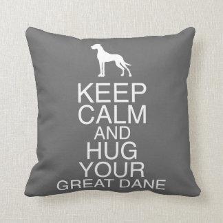 Great Dane Double Print Pillows