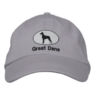 Great Dane Embroidered Hat