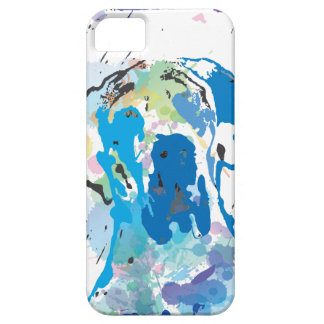 Great dane graph IC iPhone 5 Cover
