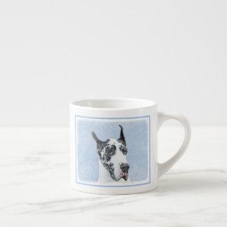 Great Dane (Harlequin) Espresso Cup