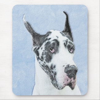 Great Dane (Harlequin) Mouse Pad