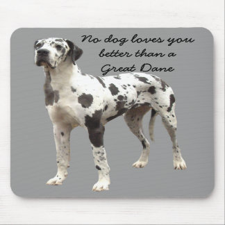 Great Dane Harlequin Mousepad