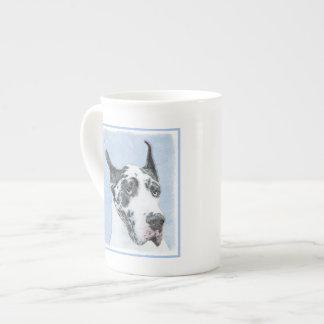 Great Dane (Harlequin) Tea Cup
