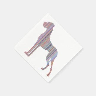 Great Dane in Pastel Colors Paper Serviettes