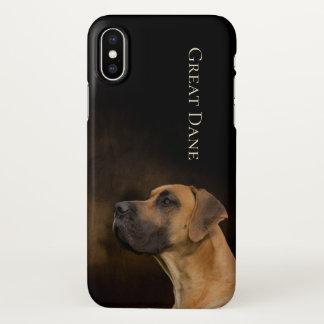 Great Dane iPhone X Case