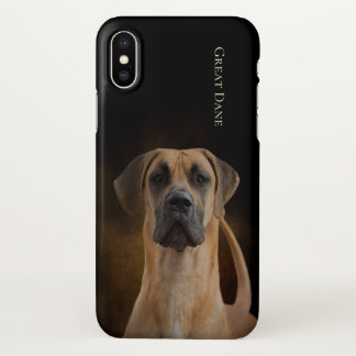 Great Dane iPhone X Cover