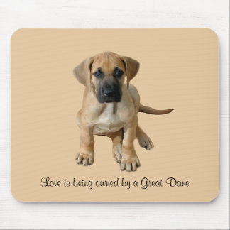 Great Dane King of Dogs Mousepad