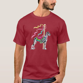 Great Dane Merle Carousel UC T-Shirt