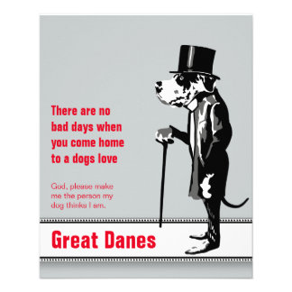 Great Dane Mister Alf 11.5 Cm X 14 Cm Flyer