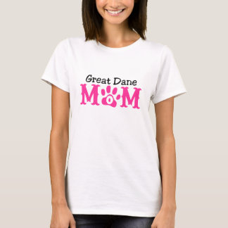 Great Dane Mom Apparel T-Shirt