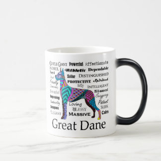 Great Dane Morphing Mug