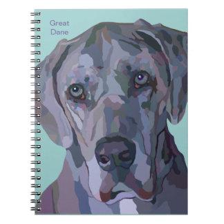 Great Dane Notebook